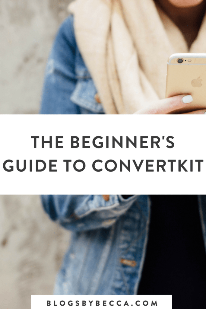 The Beginner's Guide to ConvertKit! Click to learn about all of the features that ConvertKit offers for bloggers. #blog, #blogging, #blogtips
