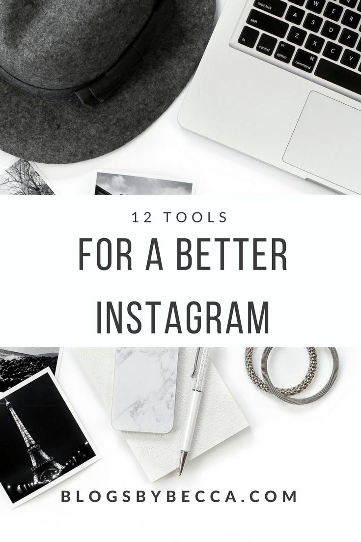 12 Tools for a Better Instagram. Great post on tools and apps for Instagram! Get more Instagram followers with these tips and tricks!